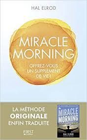 Livre entrepreneur 2019 : Miracle morning