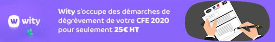 CFE 2020 - Degrevement